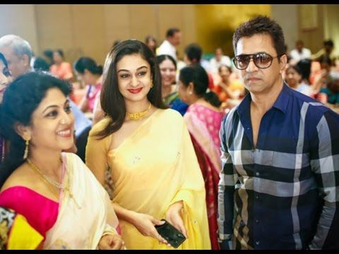 South Hero Arjun Sarja Rare and Unseen Family Images