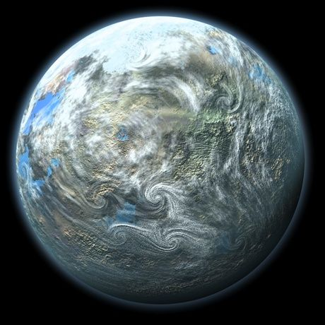 """The most Earth-like world yet detected beyond our solar system has been discovered, scientists say. With a radius that is just 1.5 times that of Earth, the potential planet is a so-called """"super-Earth,"""" meaning it is just slightly larger than the Earth. The planet orbits a star similar to the sun at a distance that falls within the """"habitable zone"""", the region where liquid water could exist on the planet's surface. The planet, if confirmed, could be a prime candidate to host alien life."""