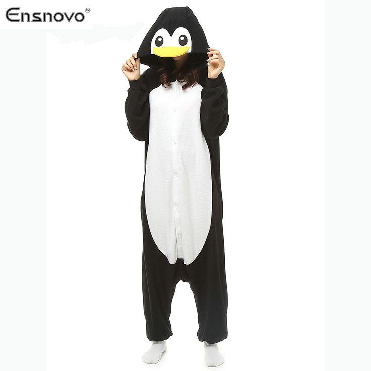 Ensnovo Women Animal Winter Sleepwear Pijamas Enteros One Piece Sloth Onesie Adult Full Body Animal Pajamas ** See this great product.