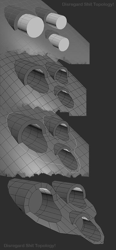 FAQ: How u model dem shapes? Hands-on mini-tuts for mechanical sub-d AKA ADD MORE GEO - Page 182 - Polycount Forum