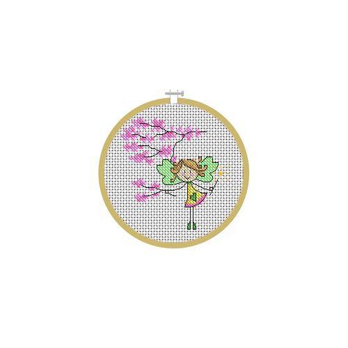 May Fairy Cross Stitch Pattern