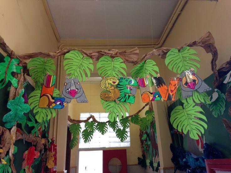 Resultado de imagen para como decorar un salon de tema safari