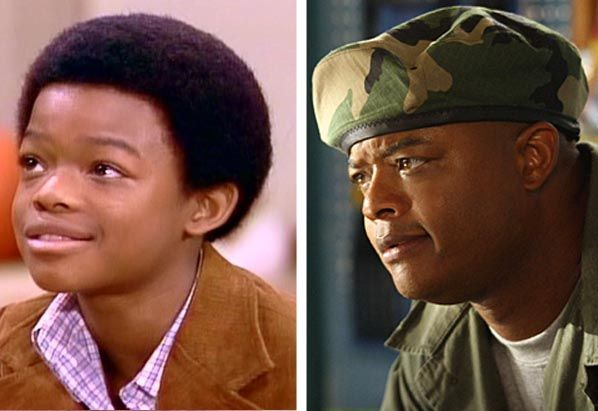 (Pictured: Todd Bridges in a scene from the sitcom 'Diff'rent Strokes.' / Todd Bridges in a scene from 'Everybody Hates Chris.')