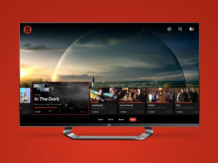Demand 5 TV App