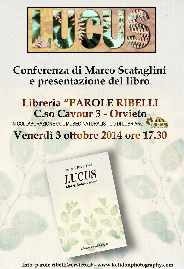 Appuntamento a Orvieto per la mioa conferenza!