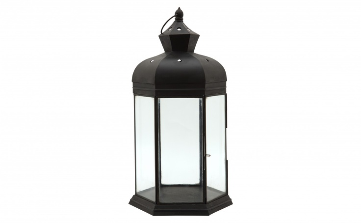 Midnight Lantern - Tall - Tabletop - Accessories | Jaysonhome.com