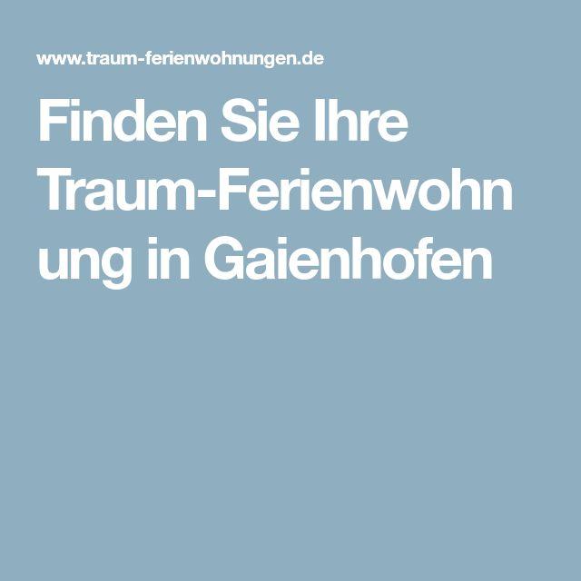 Finden Sie Ihre Traum-Ferienwohnung in Gaienhofen