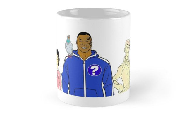 Mike Tyson Mysteries  Mugs