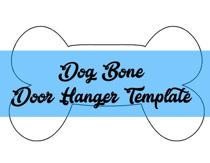 Best Door Hanger Templates Images On