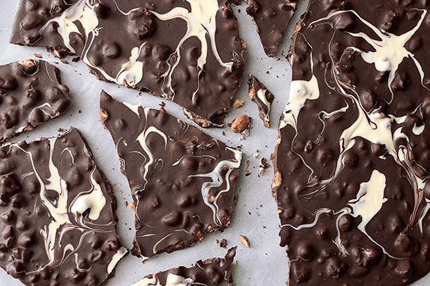 Find the recipe for Ghostly Chocolate-Nut Bark and other hazelnut recipes at Epicurious.com