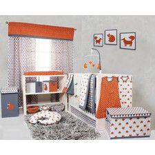Playful Fox 10 Piece Crib Bedding Set