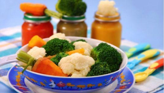 Papinha de bebê: milho, feijão, acelga, quiabo e carnes [Culinária pra Bebê]