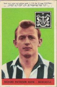 8. Richard Matheson (Dick) Keith Newcastle United