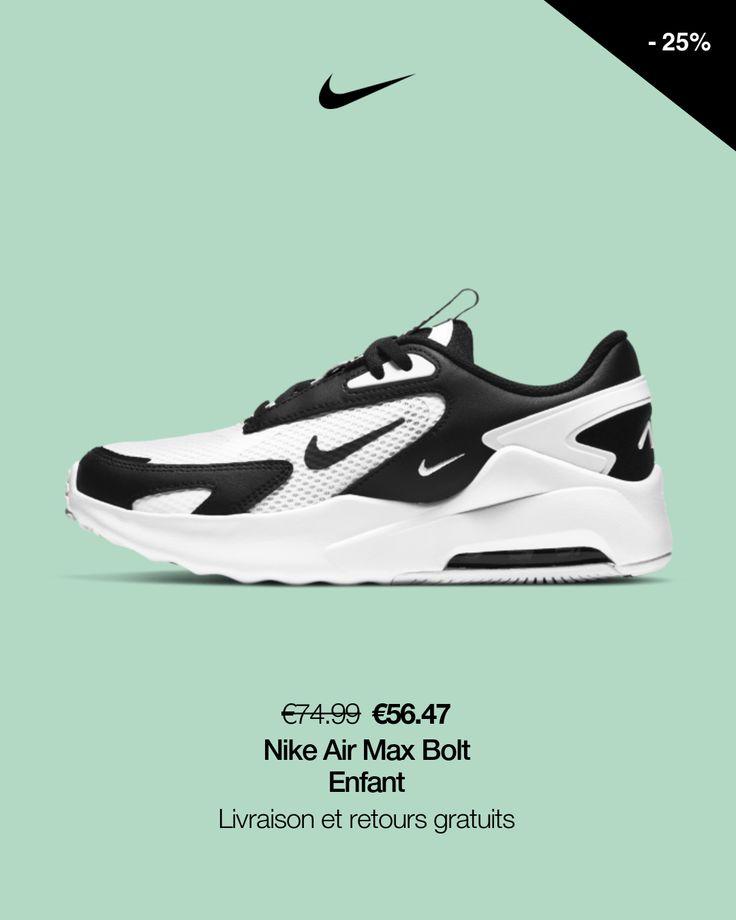 Chaussure Nike Air Max Bolt pour Enfant plus âgé. Nike FR en 2021 ...