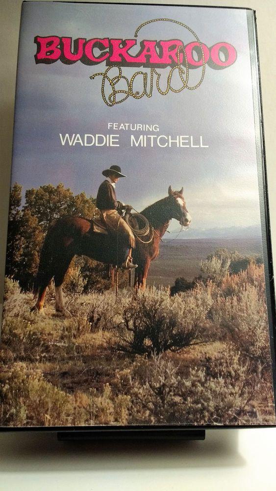 Buckaroo Bard VHS Waddie Mitchel Richard Farnsworth BYU Cowboy Poets