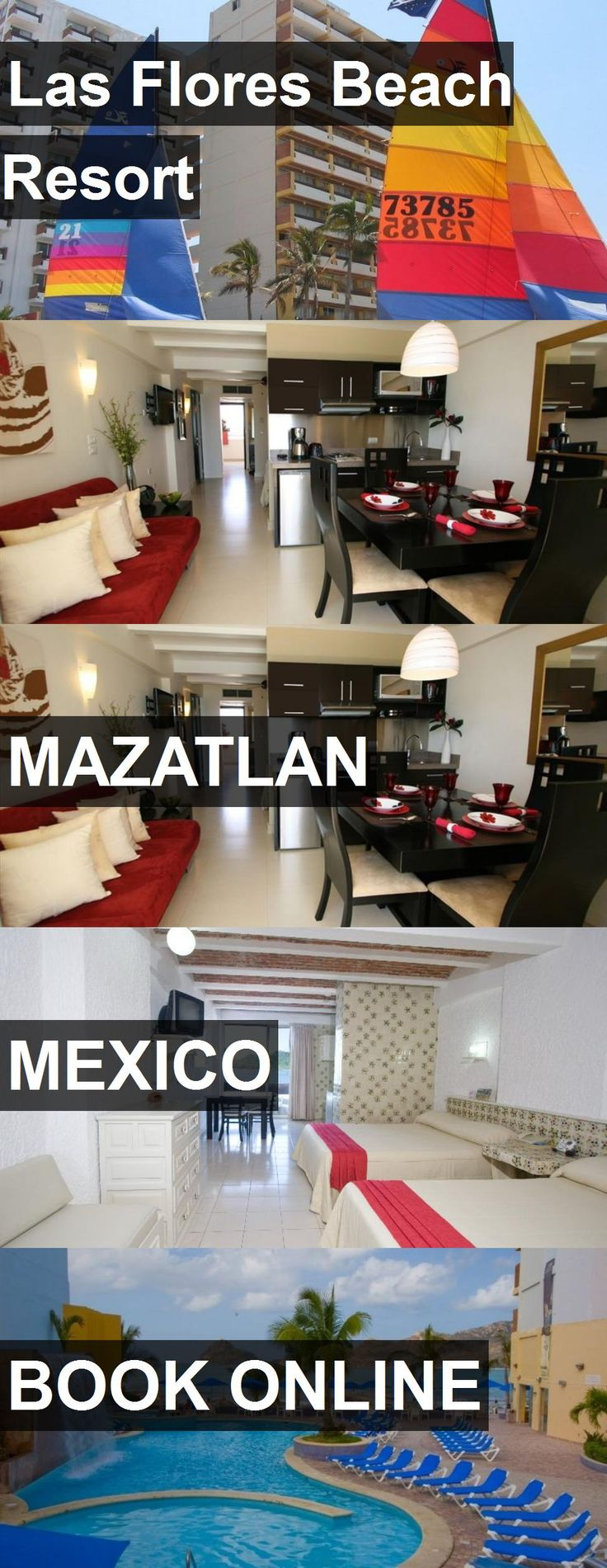 Hotel Las Flores Beach Resort in Mazatlan, Mexico. For more information, photos, reviews and best prices please follow the link. #Mexico #Mazatlan #travel #vacation #hotel