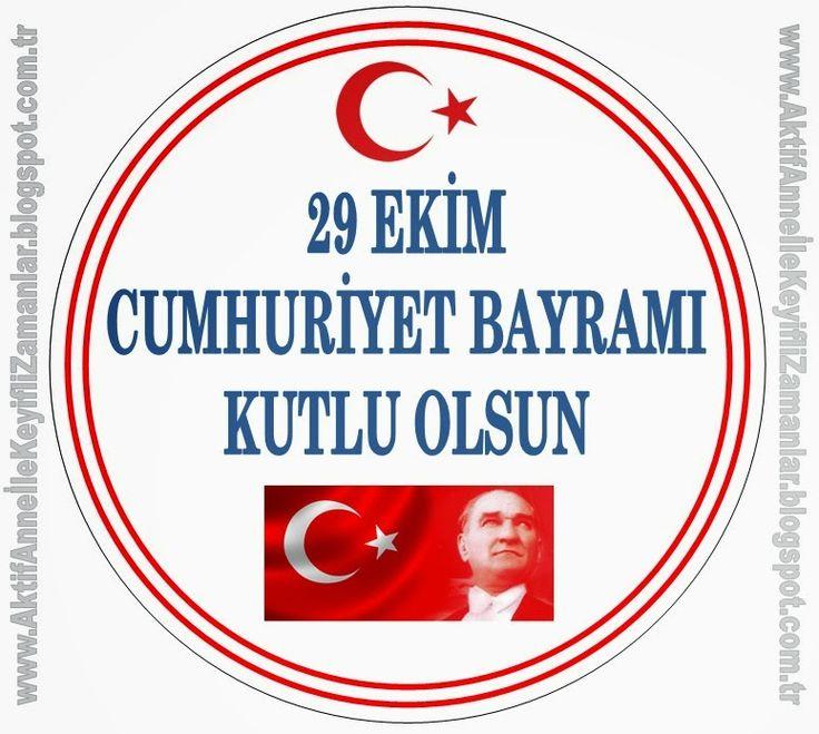 AKTİF ANNE ile keyifli zamanlar...: 29 Ekim Cumhuriyet Bayramı Etkinlikleri 1 ...