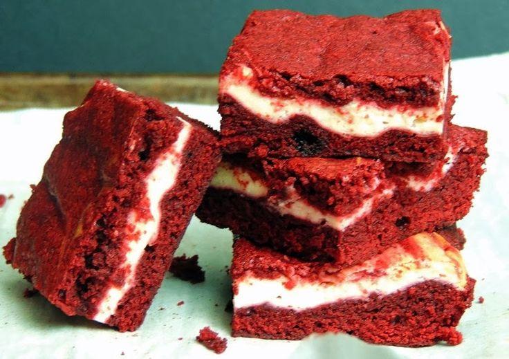Spiced Red Velvet Cheesecake Brownies