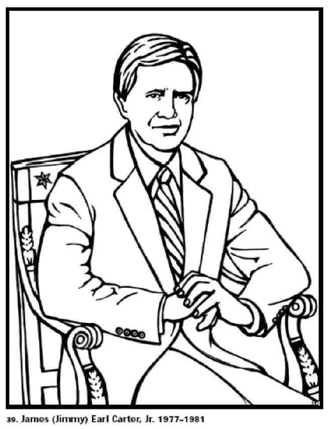 coloring pages of gerald ford - photo#7