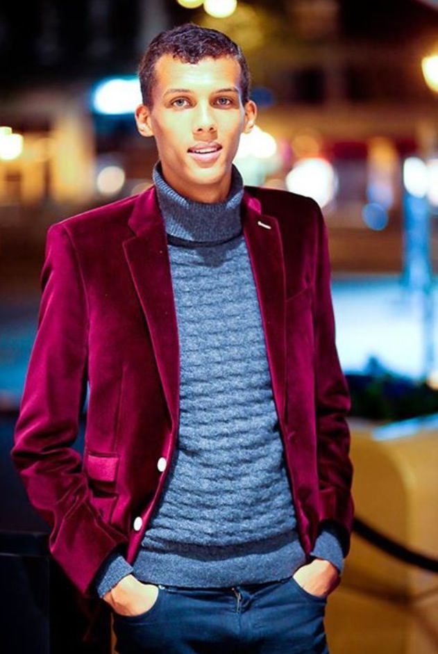 Stromae.  Check out his video https://www.youtube.com/watch?v=HhRd3dXkDCw. Yea, i jumped out of my seat and was like OMG MIIINE lol. Eccentric, artiste, and FRENCH origin.