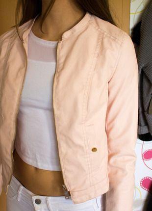Kaufe meinen Artikel bei #Kleiderkreisel… #rosa #Lederkacke #Sommer #Bomberjacke #style #fashion #Herbst