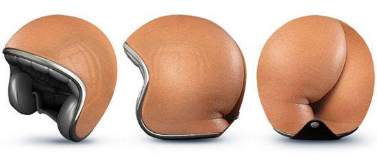 """La empresa de publicidad rusa """"Good"""" ha creado estos diseños de cascos muy originales."""