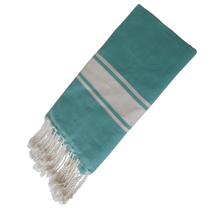 Your fouta becomes softer the more you use and the more you wash it. Dimensions : 200 x 100 cm.
