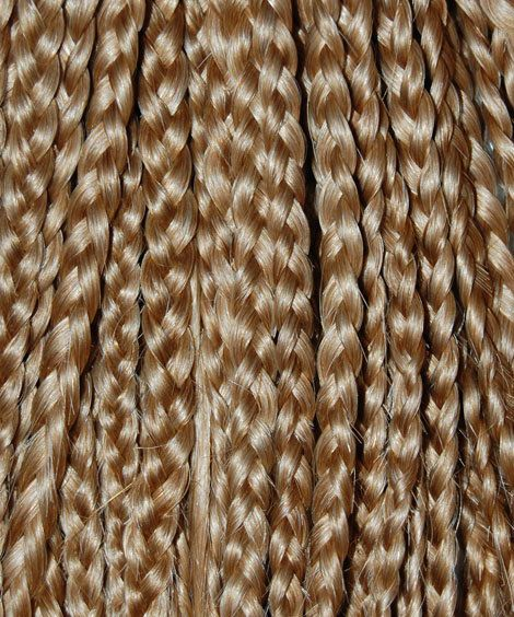 Clip in Braid extensions 10 and 14 inch length by BellaViaDesigns