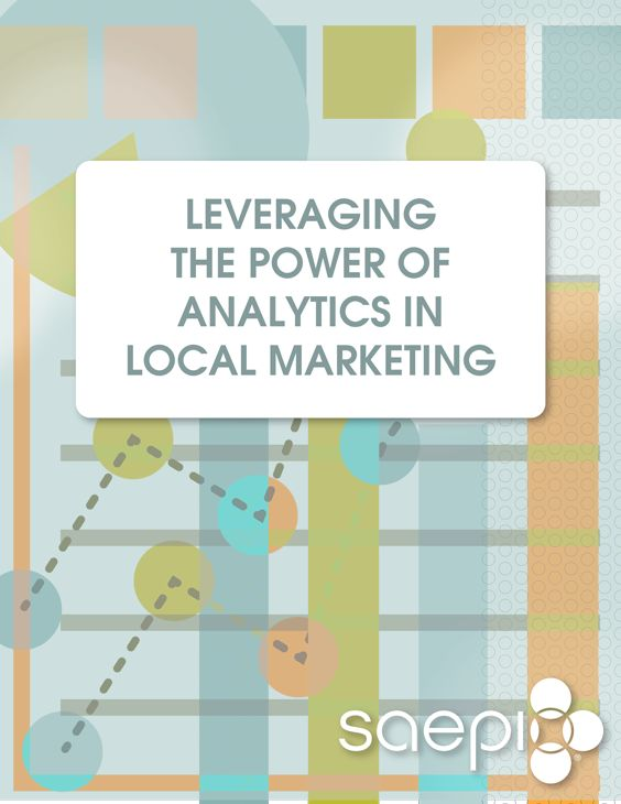"If you're a marketer today, try escaping from the word ""analytics"" for a single hour – let alone a day or week. Bet you can't. Everywhere you turn, the analytics buzz is waiting. So just what is analytics? And how does it apply to your local marketing efforts? This guidebook seeks to bring definition to analytics within the world of local marketing. http://info.saepio.com/Leveraging-Analytics.html"