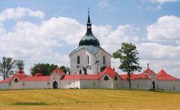 Poutní kostel Svatého Jana Nepomuckého na Zelené hoře/Pilgrimage Church of Saint John of Nepomuk