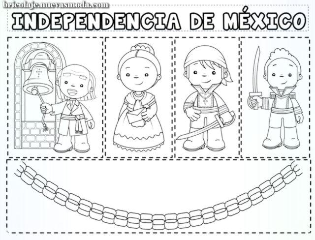 Su Tarea La De La Independencia De Mexico Manualidades 15 De Septiembre Para Ninos Septiembre Preescolar Y Ninos De Preescolar