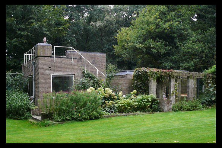 Wijdeveld, villa 'De Wachter', Amersfoort 1927-1929, tennishuisje