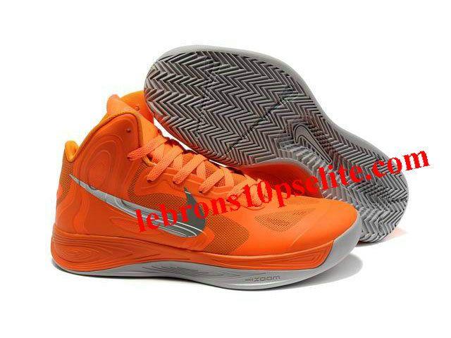 Nike Zoom Hyperfuse 2012 Jeremy Lin Shoes Orange/Gray