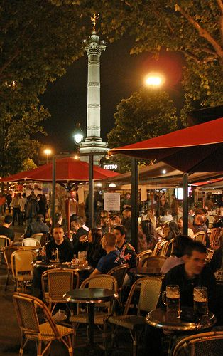 bastille area paris nightlife