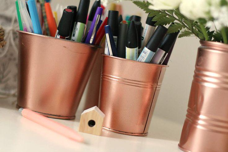 27 best images about cuivre et or rose on pinterest ikea. Black Bedroom Furniture Sets. Home Design Ideas