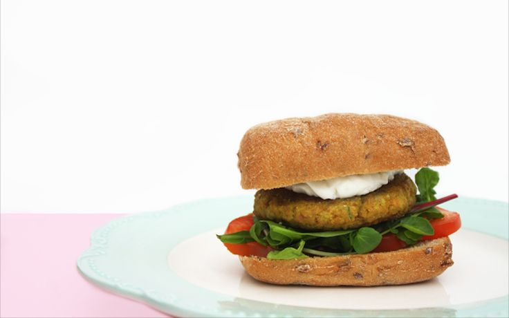 <p>Made from textured vegetable protein, a high-protein, low-fat meat substitute, and a wealth of warm and aromatic Indian spices, these burgers are seriously delicious. </p>