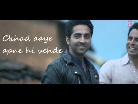 "Enjoy the love rain with Ayushmann Khurrana's new song ""Mitti Di Khushboo"" composed by his friend Rochak Kohli. Actor-singer Ayushmann Khurrana will release this song on Oct 7, 2014. #justtuber #ayushmann #rochak #mitti #bollywood"