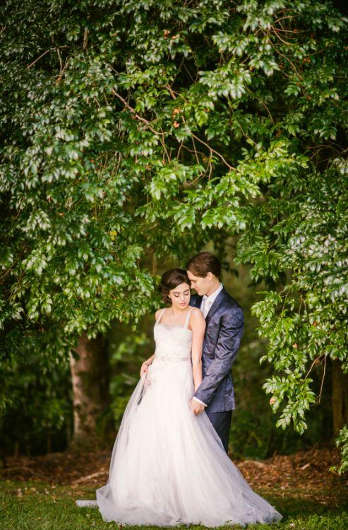 Garden wedding at Spicers Tamarind Retreat - Sunshine Coast Wedding