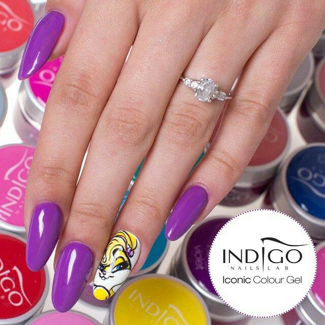 Color Gel #rubbit #cartoon #colorgel #nailart #torino #nailartist #indigonailspiemonte #indigonails #colorful