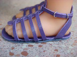 AG sandal tutorial in French