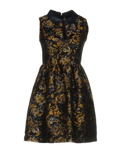 ATOS LOMBARDINI Women's Short dress Black 10 US