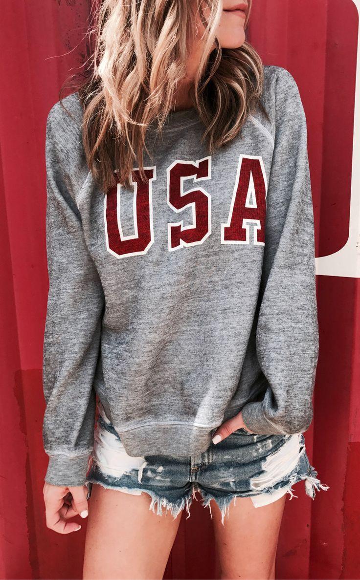 #outfits #summer EE.UU. ❤ // Este top viene en una camiseta de la versión también.