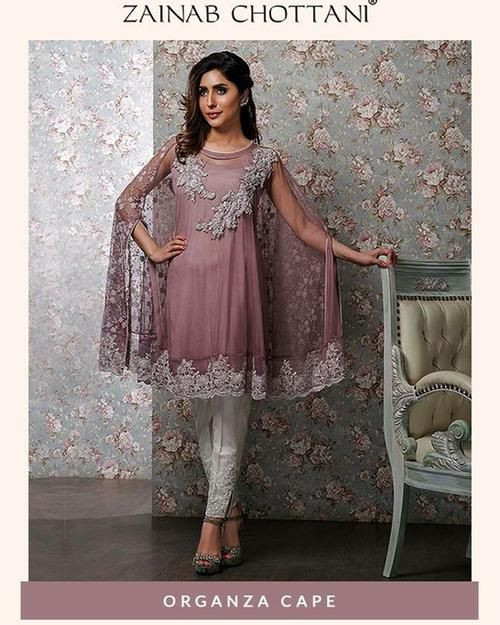7bb99eee30 Zainab Chottani Party Wear Collection With Heavy Embroidery Chiffon Dupatta  (Replica)(Unstitched)   Lawn Suits & Dresses   Dresses, Pakistani dresses,  ...