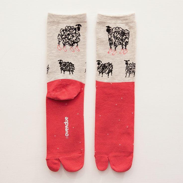 Crazy sheep-socks