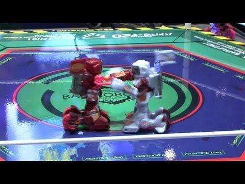 Remote Control Fighting Robot Cyborgs - Tomy BattroBorg 20 #DigInfo