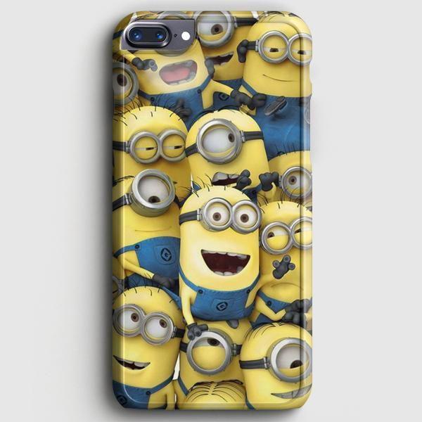 Minion Pattern iPhone 7 Plus Case | casescraft