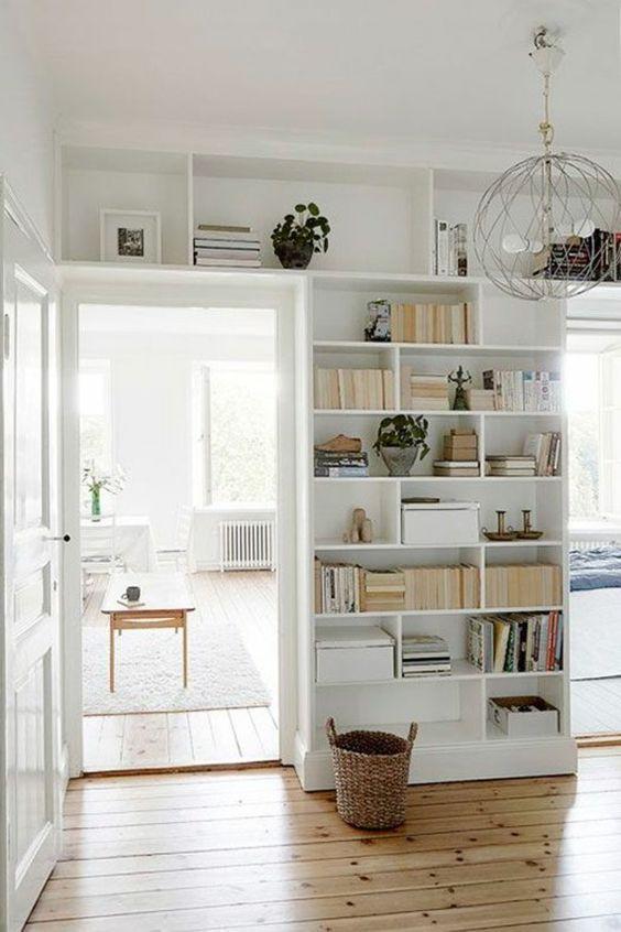 bookshelf ideas, creative bookshelves, minimalist ...