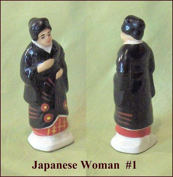 Tea Premium  1  Japanese Woman  Canadian Tender by EttasEmporium