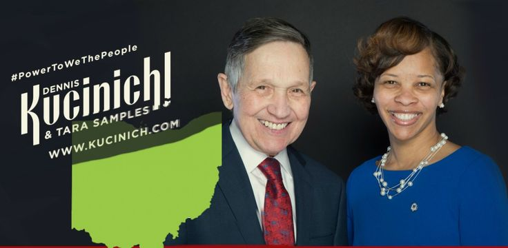 Former Mayor, U.S. Congressman, & famous peace advocate Dennis Kucinich formally announced his run for Gov of of Ohio on Jan 17. With current Gov John
