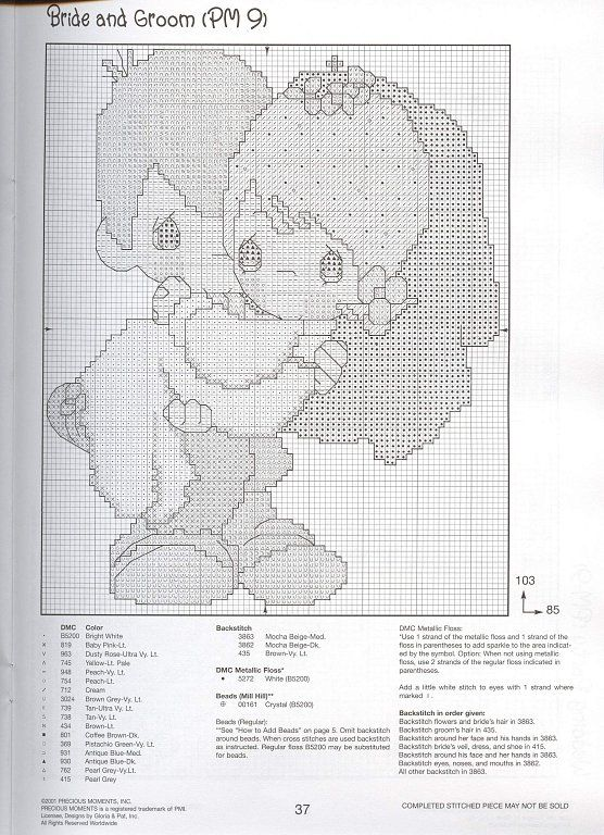 Just Cross Stitch Patterns (p 767.) | Learn Crafts is facilisimo.com. To have and to hold?